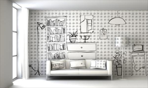 Idee deliziose per decorare le pareti di casa   casa italiana