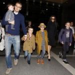 David Beckham e Famiglia Mamme a Spillo