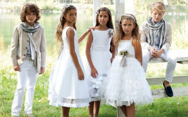 Estremamente abiti da comunione: la nuova moda per i vostri bambini! WN95