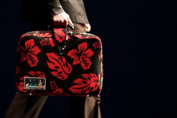 Borse da uomo Prada. Le proposte della maison per la pe 2014
