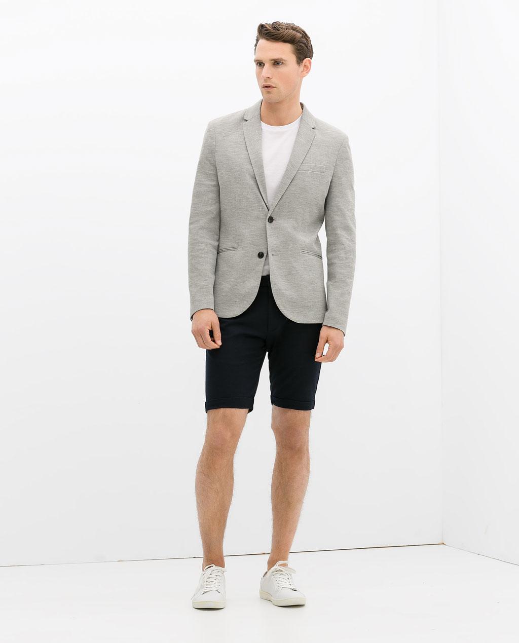 dettagliare design senza tempo presentando Zara Uomo estate 2014: proposte moda uomo low cost