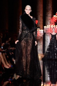 Abito Elie Saab mamme a spillo