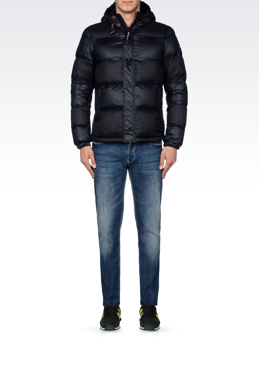 on sale f50d5 89084 Armani Jeans Uomo, lo streetwear di lusso per l'inverno 2014