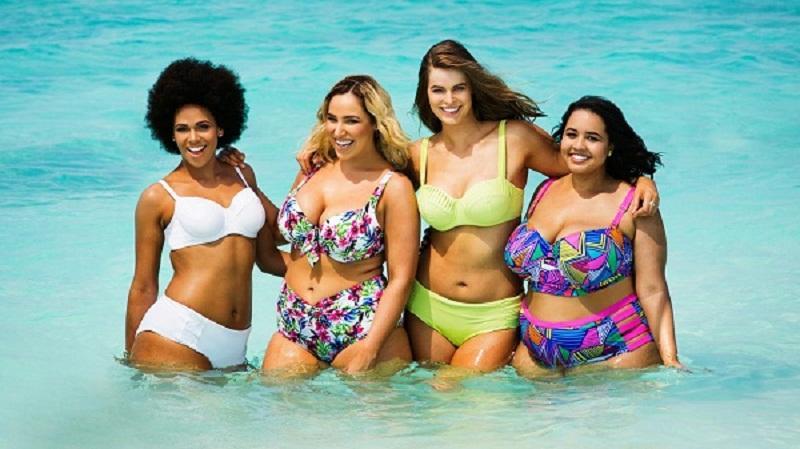 Tendenze Colori Costumi Da Bagno 2014 : Costumi da bagno curvy: proposte per lestate delle donne con curve