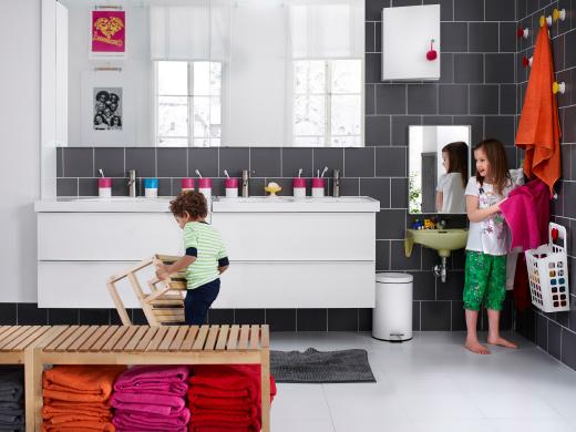 Arredo bagno in primo piano idee e spunti per la vostra casa - Ikea idee bagno ...