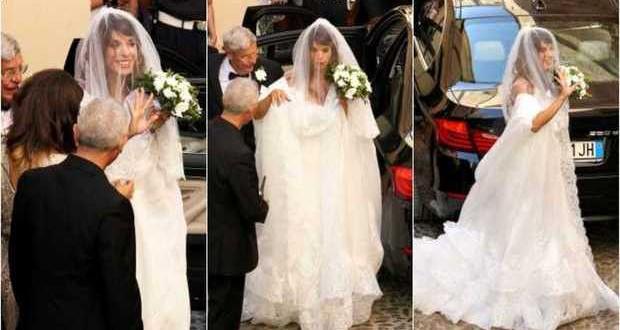 Matrimonio Country Chic Sardegna : Elisabetta canalis sposa chic in sardegna mamme a spillo