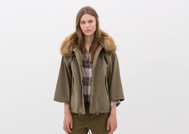 in vendita bb4b9 67b70 I capispalla di Zara inverno 2014. Tendenze e novità