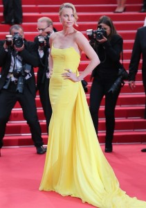 Charlize Christian Dior Cannes 2015 mamme a spillo