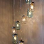 barattoli vetro_ luce_sospensione
