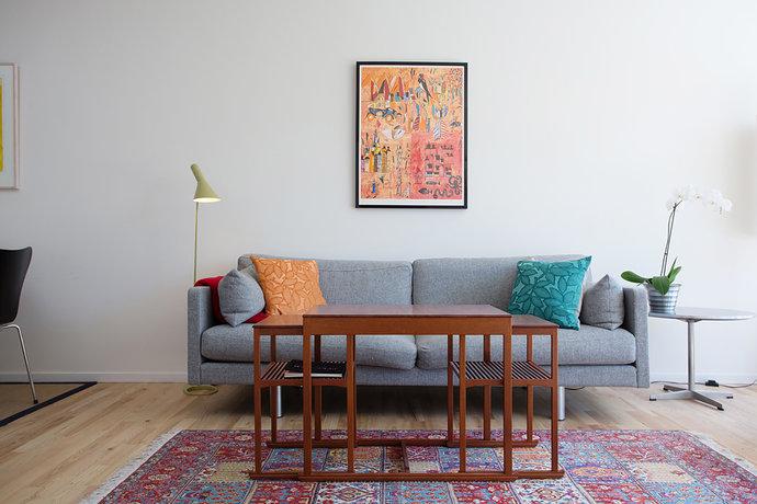 Tappeti Colorati Per Salotto : Salotto tappeto persiano mamme a spillo