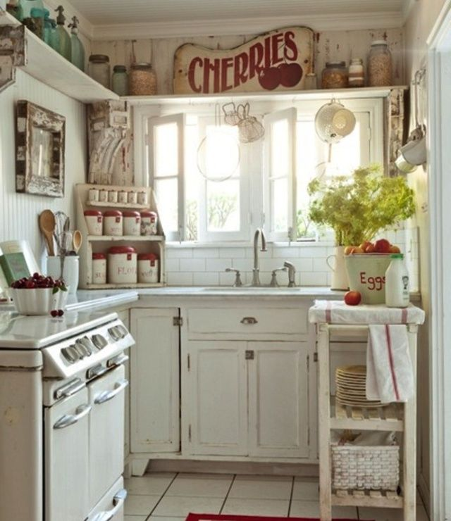 Stunning Cucina Country Chic Contemporary - Embercreative.us ...