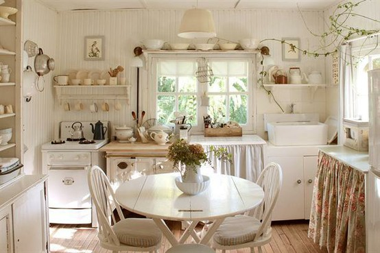 Beautiful Tende Cucina Shabby Chic Images - bery.us - bery.us