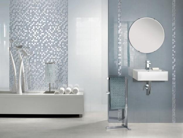 Arredo Bagno Mosaico Verde Acqua : Arredare il bagno in modo originale il mosaico