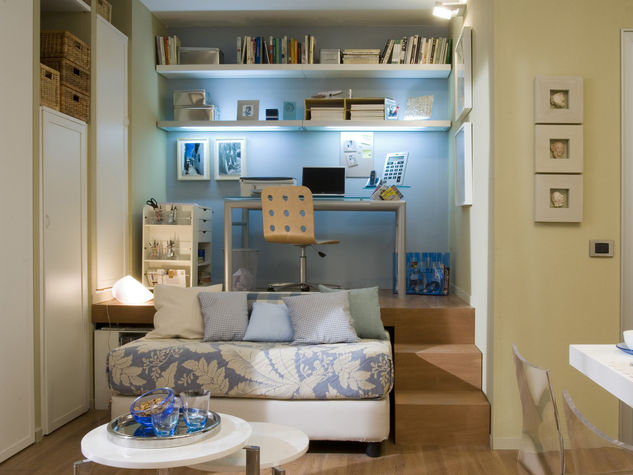 Arredare con poco spazio soluzioni doc per case piccoline for Idee arredamento soggiorno fai da te
