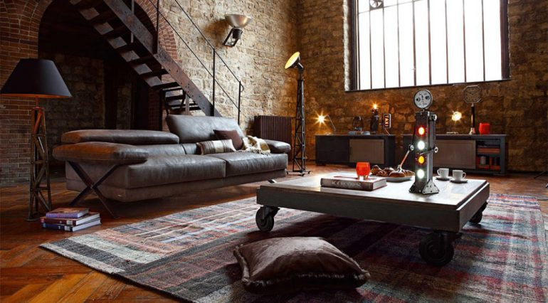 Idee casa di tendenza: come arredare in stile industriale