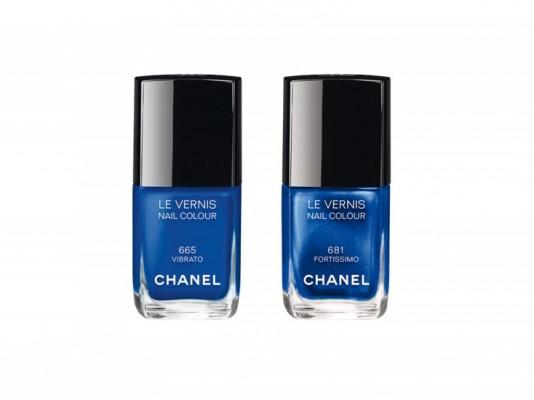 chanel blue rhythm mamme a spillo smalti fashion autunno inverno 2015