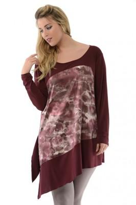 sophia curvy t-shirt moda curvy autunno 2015 mamme a spillo