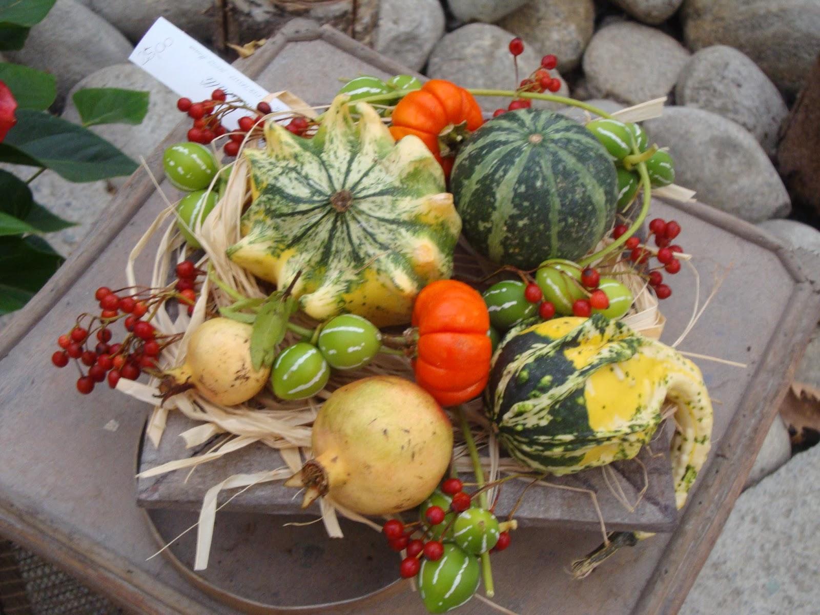 Composizioni Facili Di Frutta decorare con la zucca: idee facili e low cost