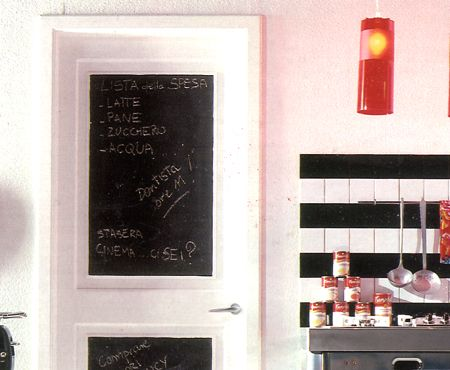 10 idee per la tua cucina con la vernice effetto lavagna mamme a spillo - Lavagna cucina ikea ...