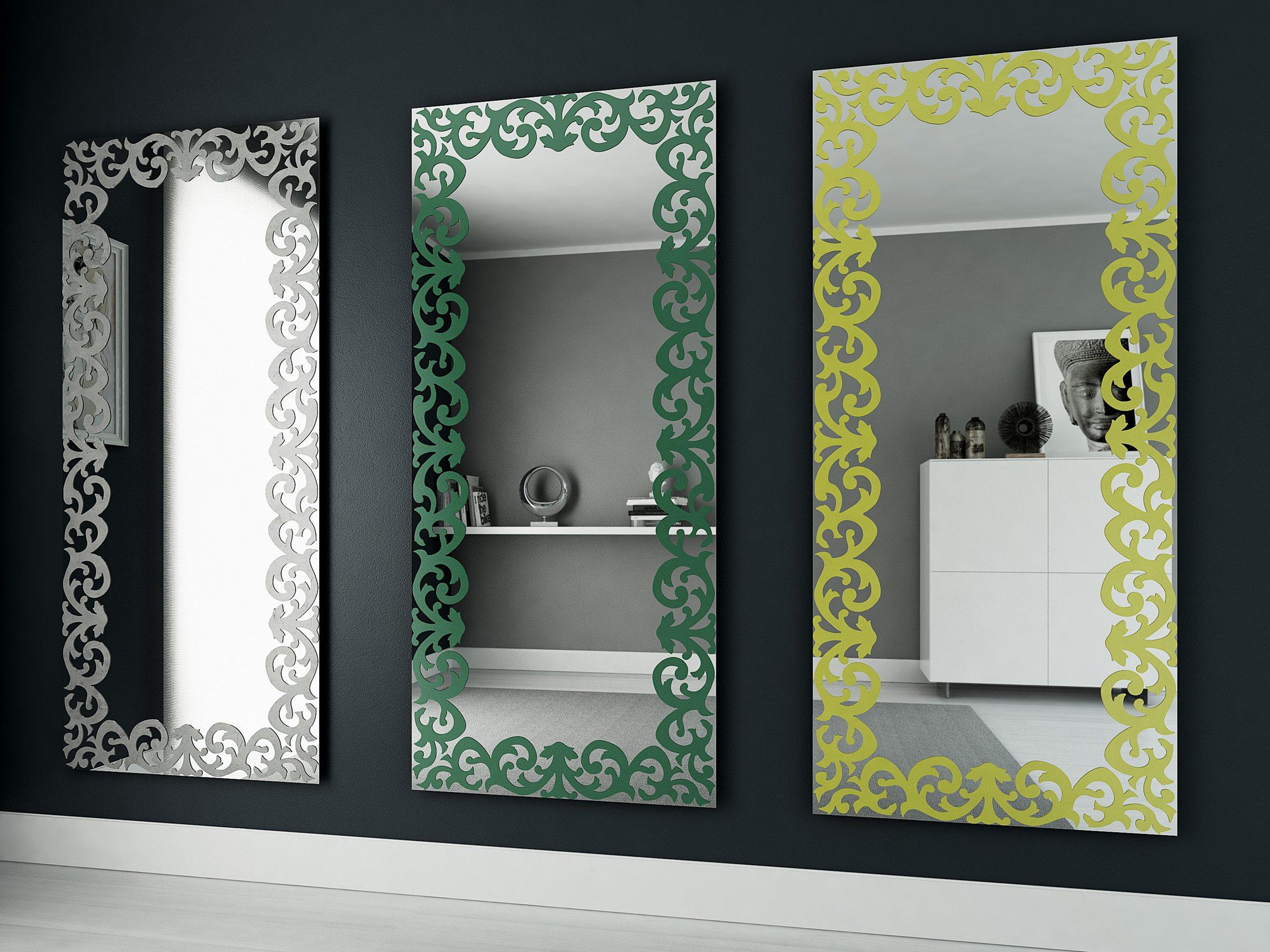 Pareti A Specchio Design arredare con gli specchi: idee per dare luce alla casa