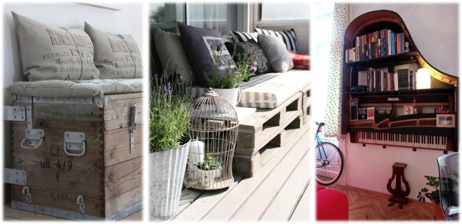 Riciclo creativo idee per arredare casa con zero budget for Riciclo arredo casa