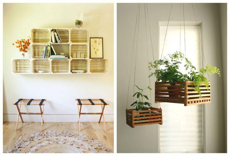 abbastanza Riciclo creativo: idee per arredare casa con zero budget PK27