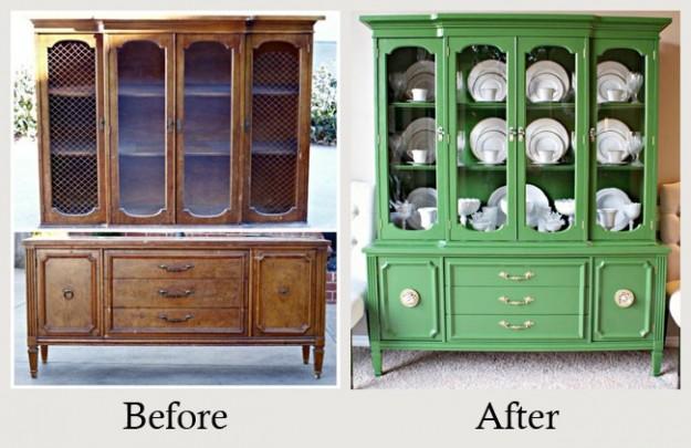 Dipingere mobili vecchi bo71 pineglen - Riciclo mobili vecchi ...