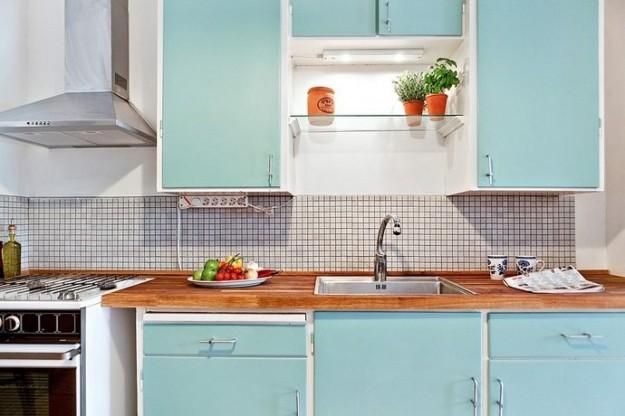 cucina-color-acquamarina