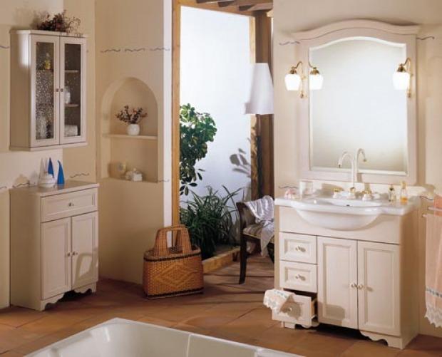 Bagno in stile provenziale: relax dal sapore romantico