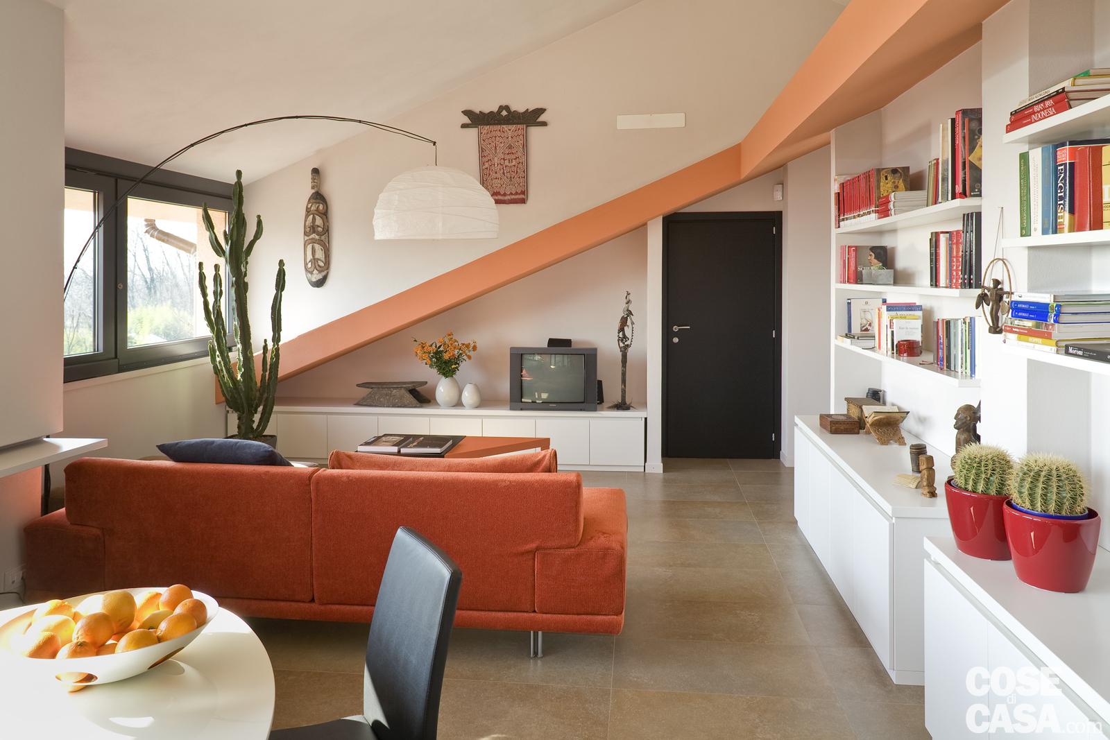Lampade Soffitto Per Mansarde mansarda, istruzioni per l'uso: arredare ottimizzando gli spazi