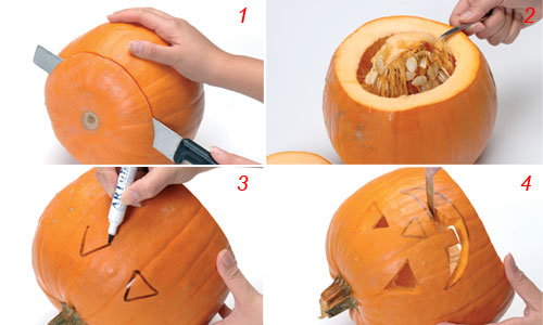 Come Fare Una Zucca Di Halloween Vera.Zucche Di Halloween Come Realizzarle In 4 Passi
