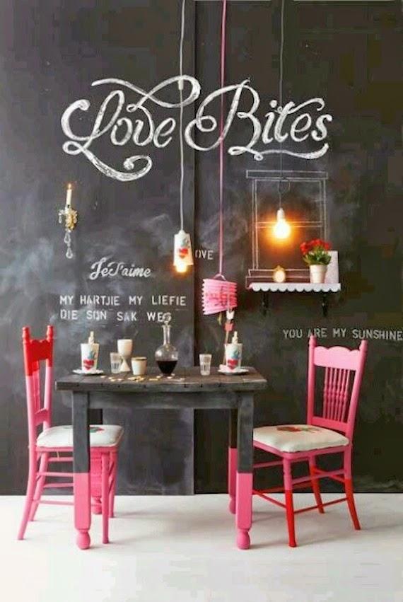10 idee per la tua cucina con la vernice effetto lavagna - Mamme a spillo
