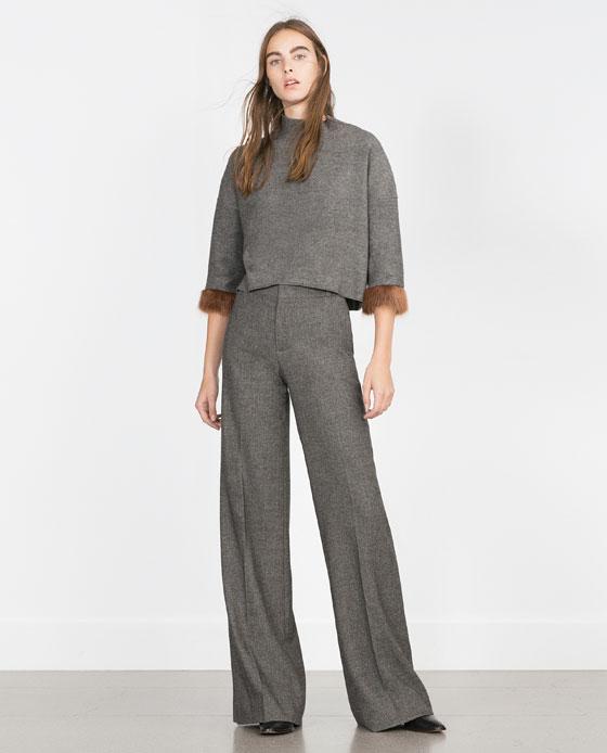 Zara moda donna inverno 2015: la nuova collezione in primo piano