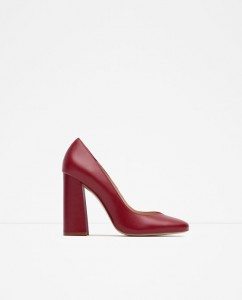 zara moda donna inverno 2015 mamme a spillo scarpe tacco largo