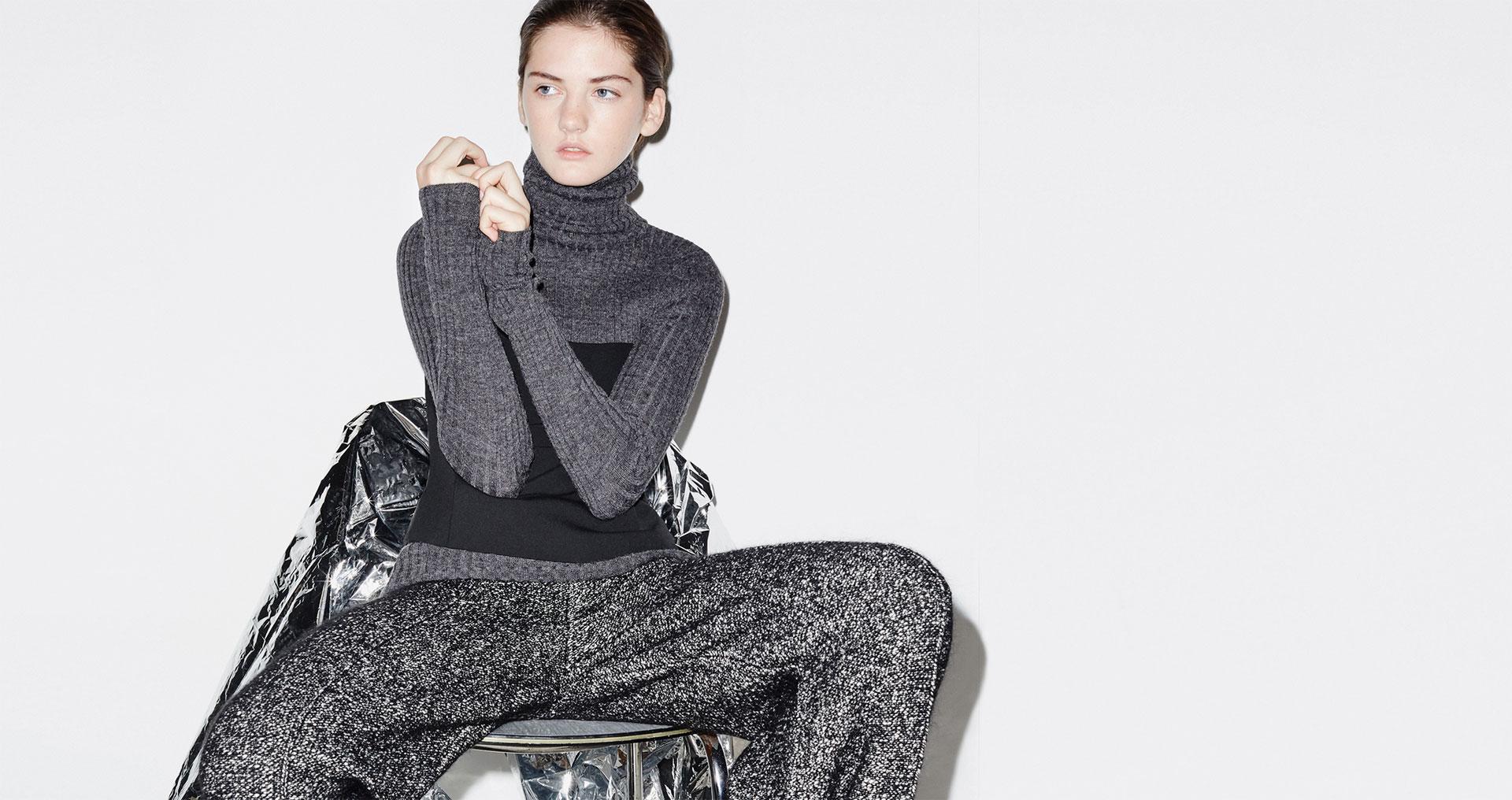 size 40 56c09 27fc5 Zara moda donna inverno 2015: la nuova collezione in primo piano