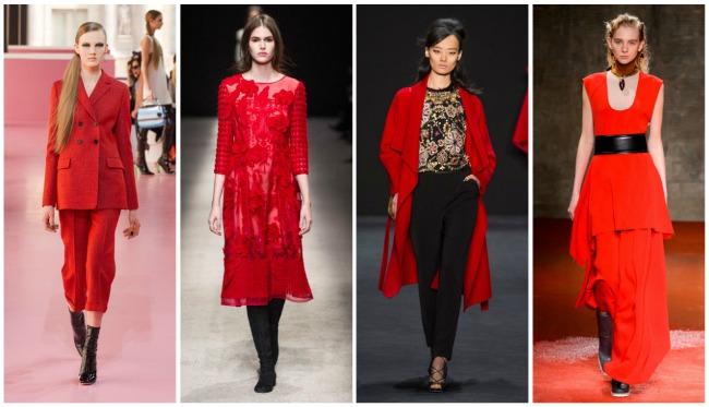 Fuoco, bordeaux e marsala: 5 trucchi per indossare il rosso senza ...
