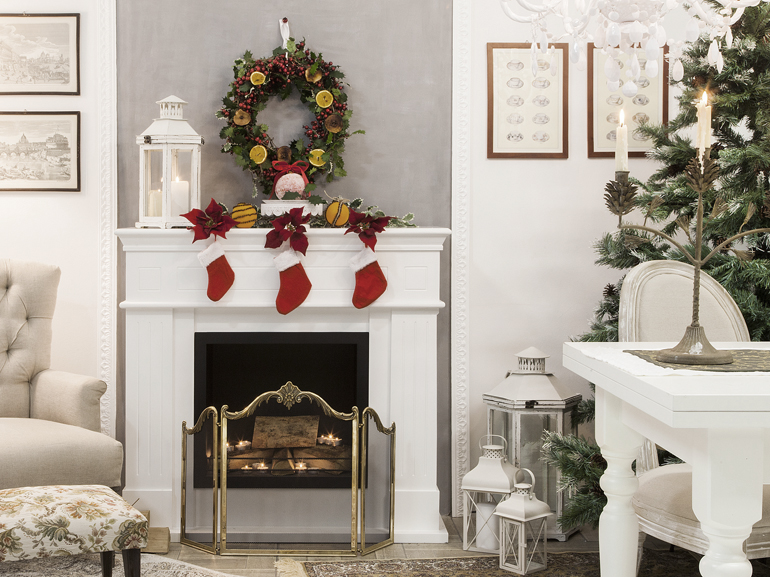 Natale 2015 come decorare casa in stile shabby chic - Casa in stile shabby chic ...
