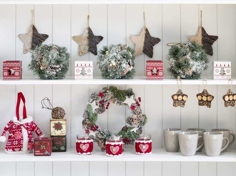 Shabby Chic Natale : Natale come decorare casa in stile shabby chic