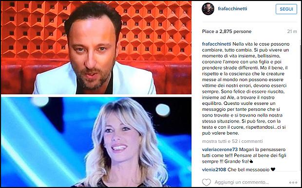 facchinetti-marcuzzi-dedica-social
