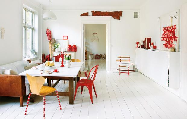 Natale 2015 bianco e rosso per l arredo natalizio in for Arredamento natalizio casa