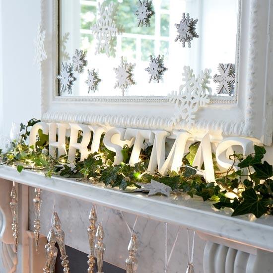 Come Decorare Un Camino Idee Di Stile Per Il Natale