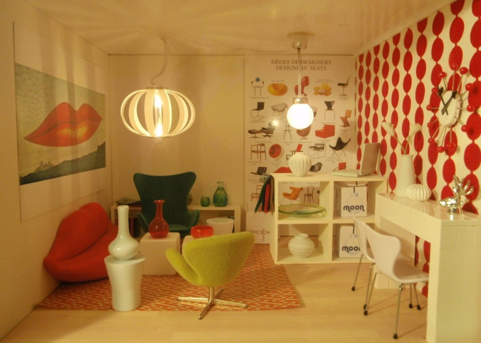 arredamento anni sessanta forme materiali e colori