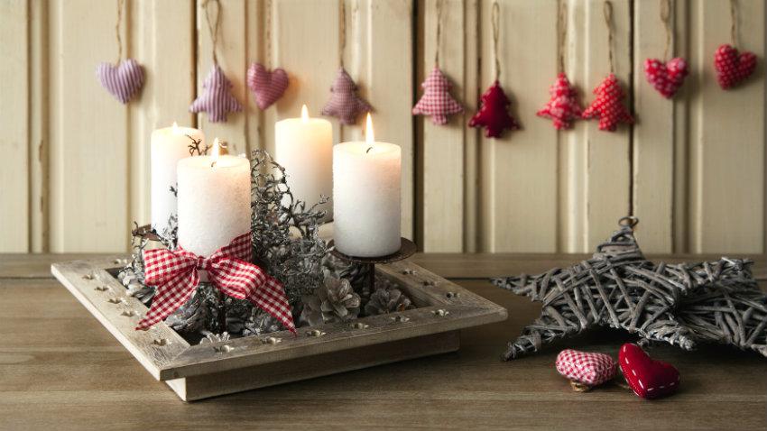 Decorare Candele Fai Da Te : Come decorare candele per natale candele fai da te per natale