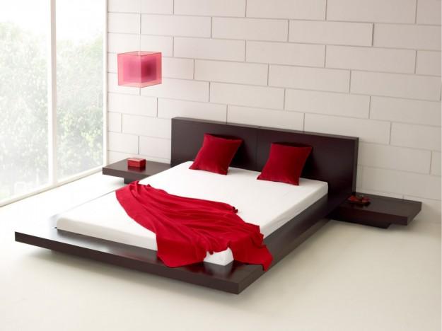 Arredamento Minimalista Camera Da Letto : Idee arredamento minimalista zona notte parete grigia tende camera