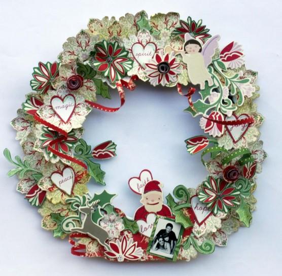 Favorito Ghirlande natalizie: tante idee fai da te semplici e d'effetto LJ75