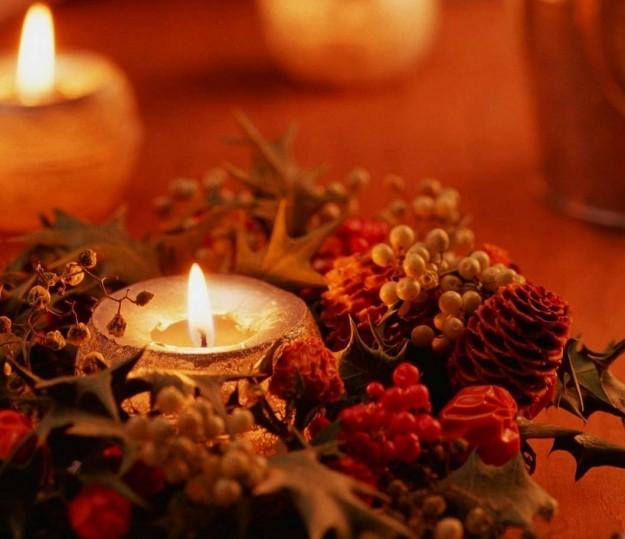 Candele natalizie fai da te 3 idee super semplici da realizzare - Decorazioni per capodanno fai da te ...