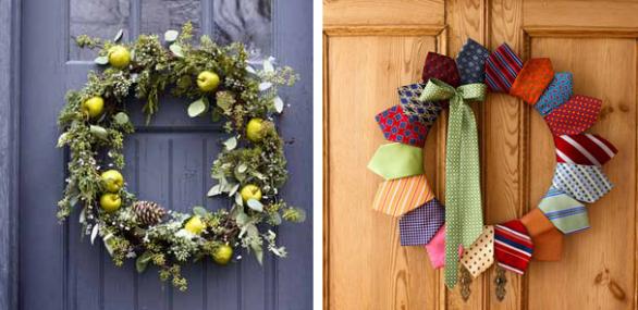 Ghirlande natalizie tante idee fai da te semplici e d effetto - Ghirlanda natalizia per porta fai da te ...