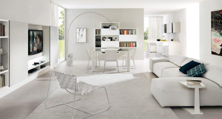 Una casa tutta bianca consigli per un arredamento total white for Arredamento total white