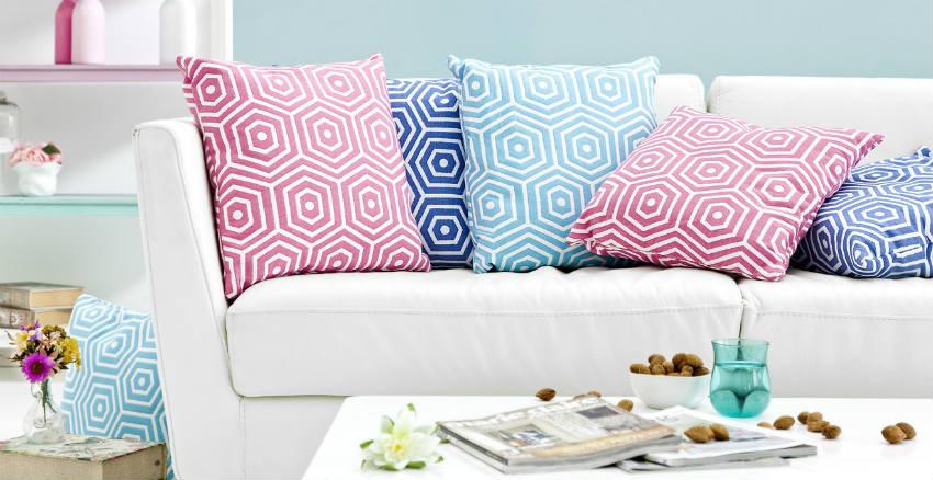 Casa e buonumore consigli per creare un ambiente ad hoc - Cuscini da divano ...
