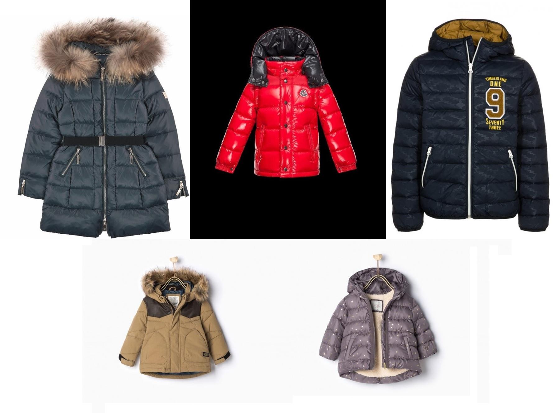 incontrare 5c3d8 1c6be Piumini per bambini: i modelli più fashion dell'inverno 2016